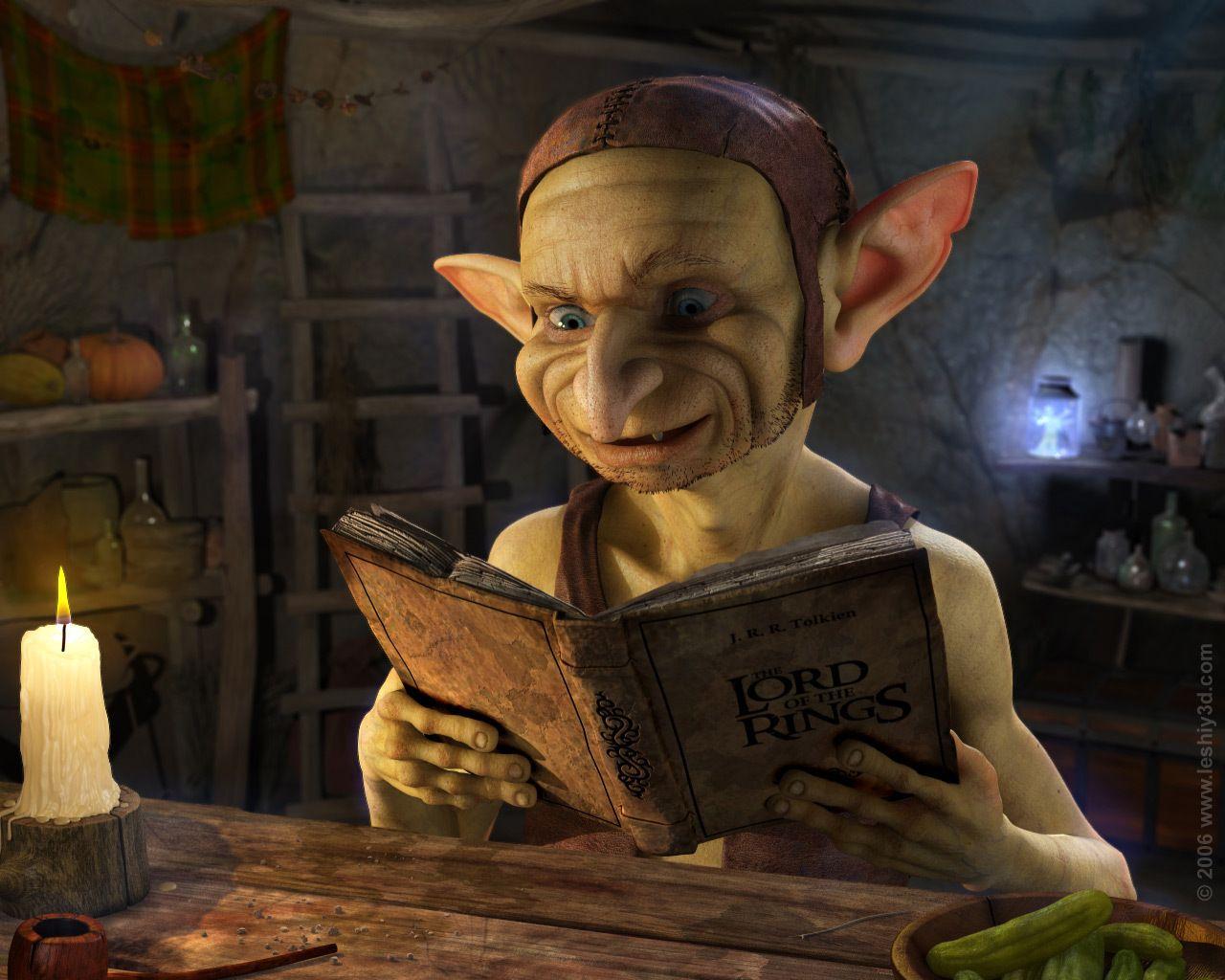 Strange Goblins Goblin Magical Creatures Fantasy Creatures