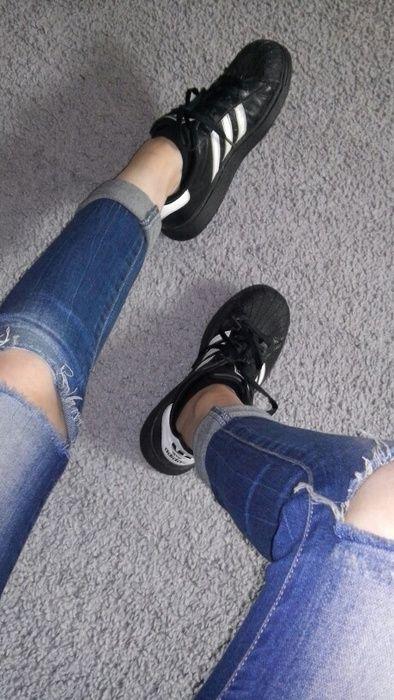 8b9b0cd78c Adidas Superstar schwarz weiss! - kleiderkreisel.de | Mode stile ...