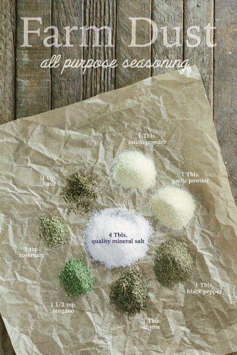 Farm Dust - The Ultimate All-purpose Seasoning - Mr. Farmer's Daughter