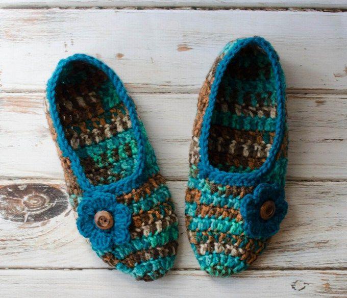 Not Your Grandma\'s Crochet Slippers