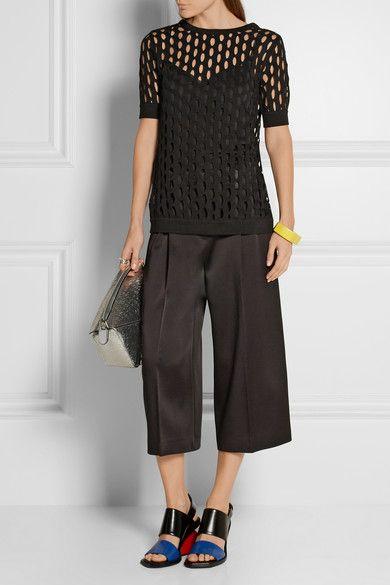 Marni | Open-knit cotton top | NET-A-PORTER.COM