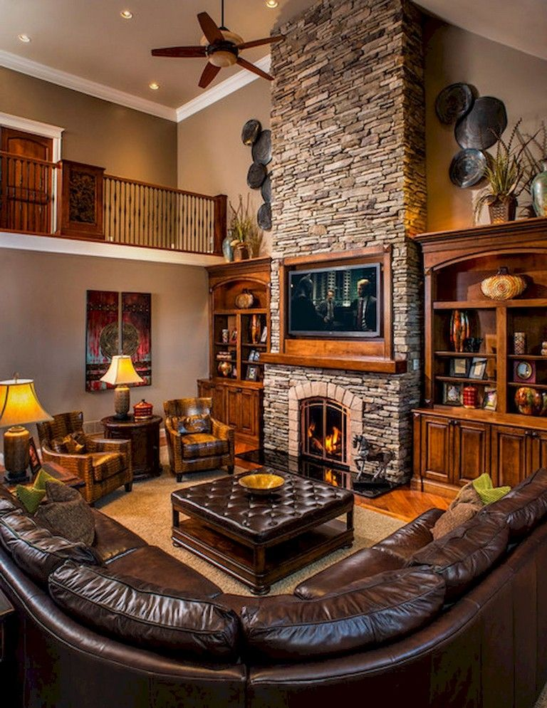52+ Awesome Rural Living Room Decoration Ideas - Page 42 of 54 images