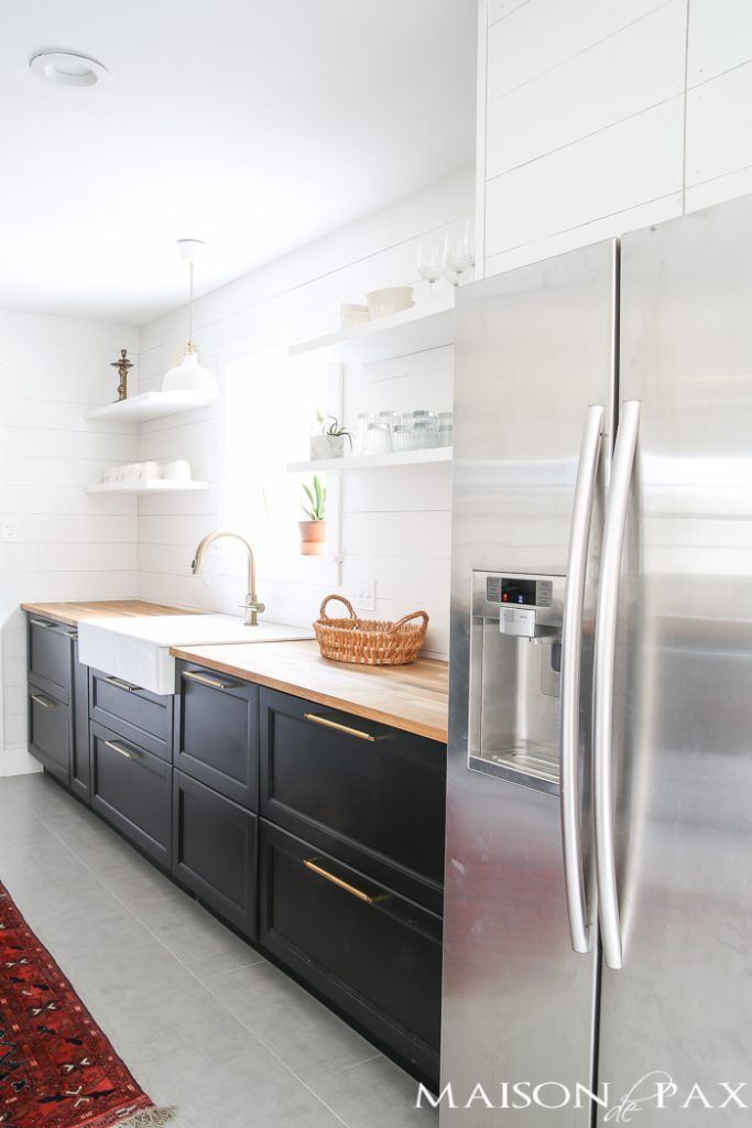Modern Farmhouse Kitchen #modernfarmhousestyle