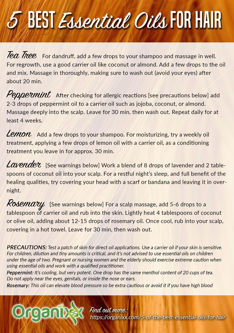 Best Essential Oils For Hair Do You Know Which Essential Oils Are