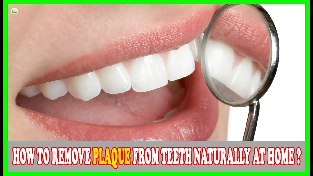 Teeth plaque may be visualized as the thin, sticky and
