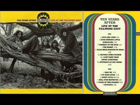 Alvin Lee Ten Years After Spoonfull Fillmore East Concert 1970 Fillmore East Romantic Music Ten