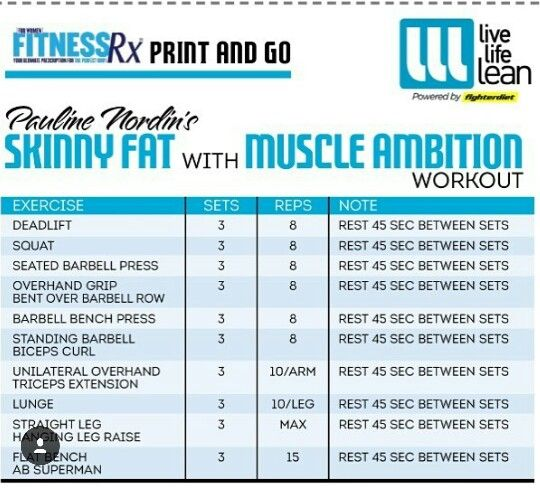 Pin On Print And Go Workouts