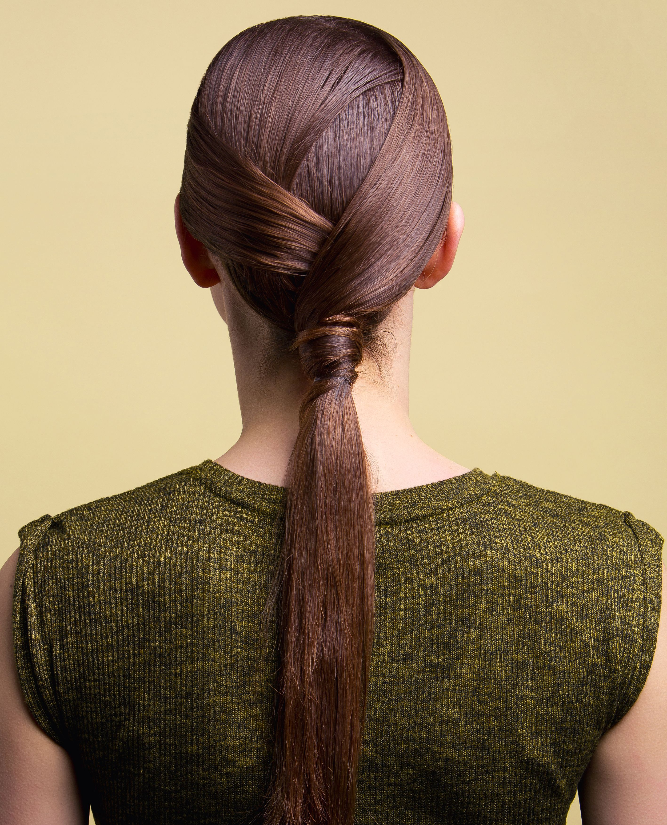 Layered ponytail. Hair by Salon B (con immagini)