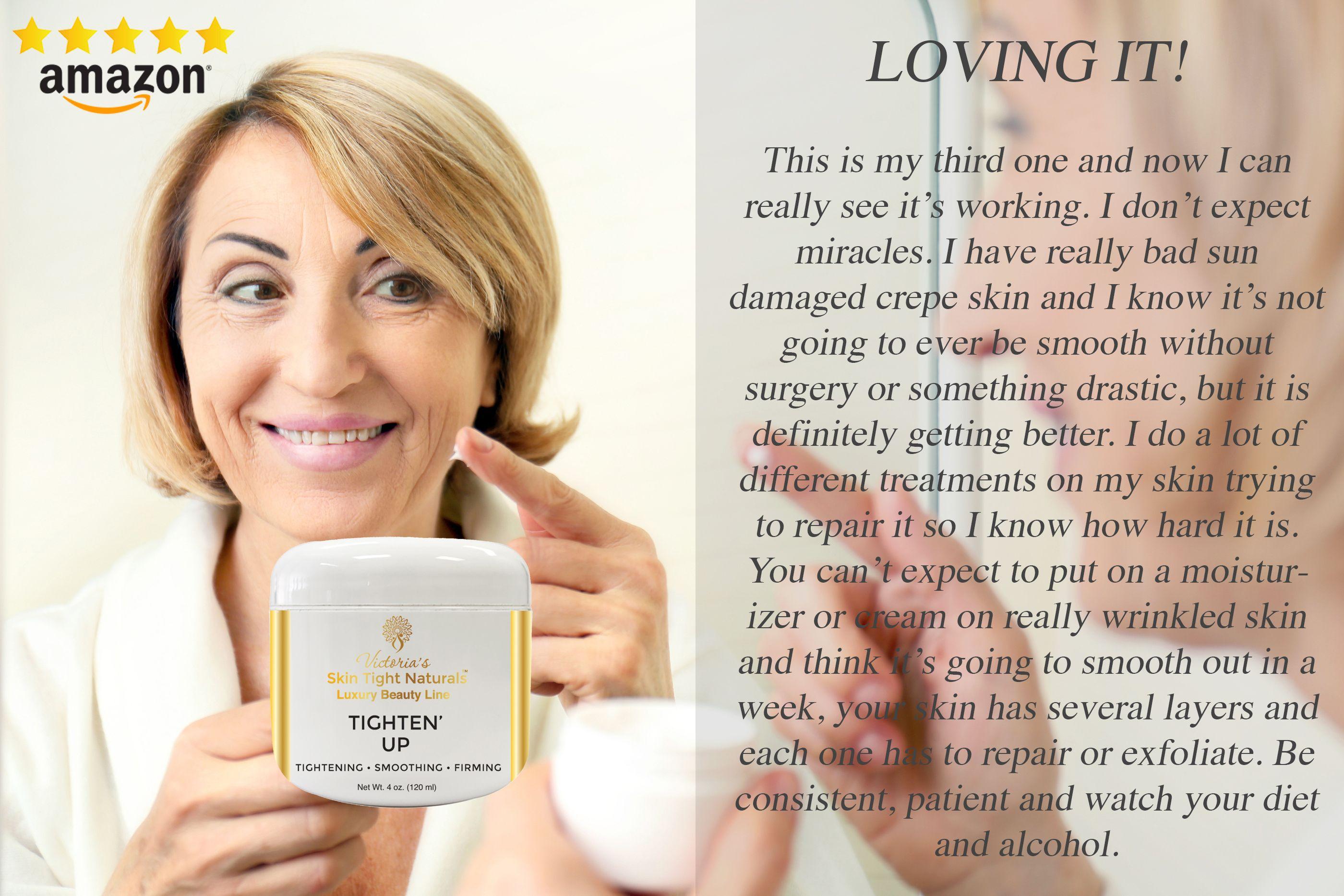 Tighten Up Moisturizing Body Cream Crepey Skin Moisturizer Cream