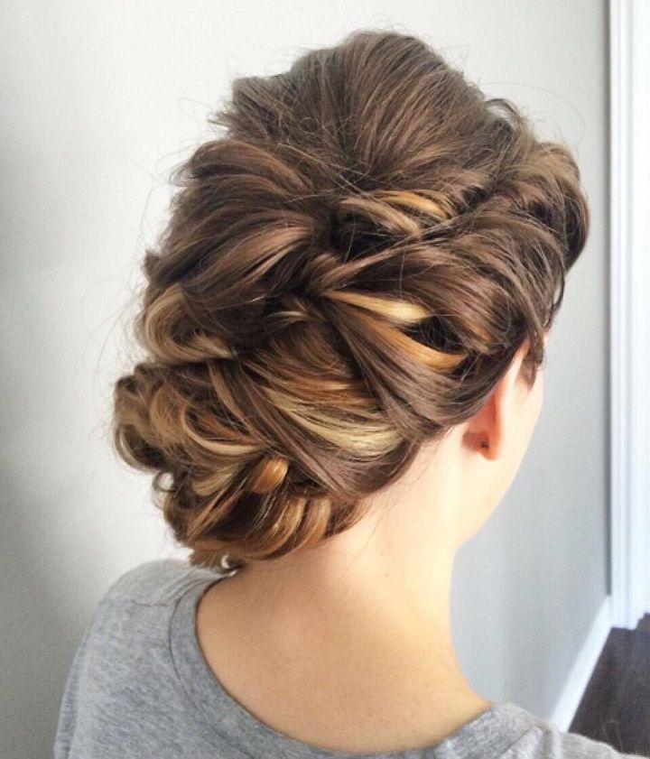 Textured Updo Wedding Hairstyle Wedding Hairstyles Hairstyle
