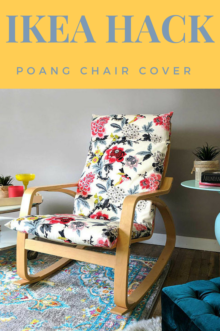 Customize Your Poang Chair With This White Flowers Ikea Poang Chair Cover Customized Flower Print Ikea Seat Cover Ikeahack Ikeaideas Affliliate