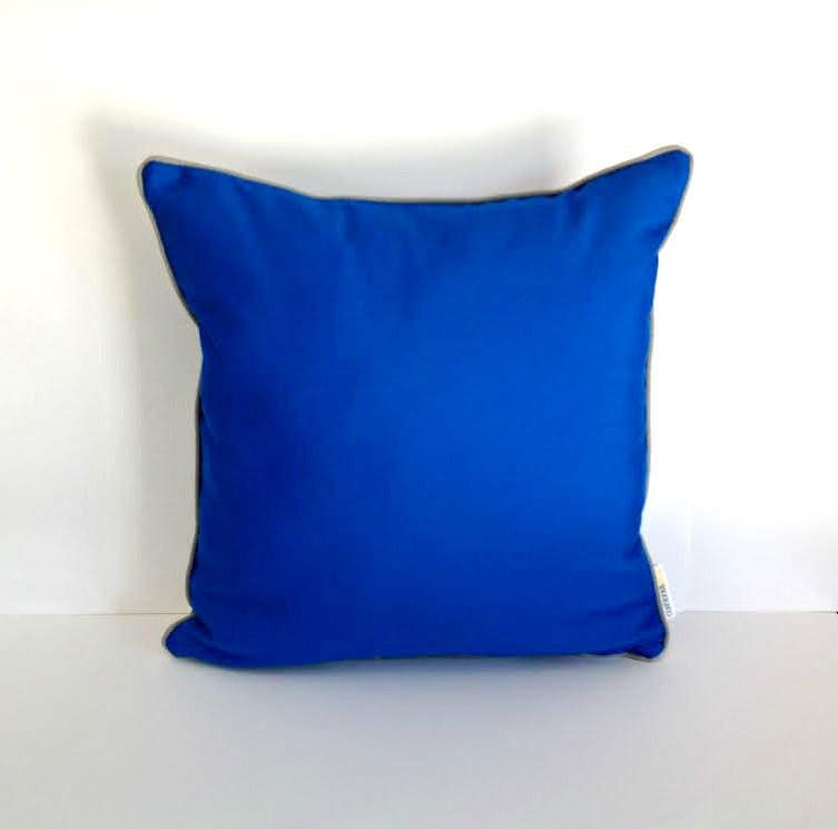 Outdoor Sunbrella Cobalt Pillow Royal
