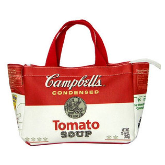 Campbell Tomato Soup Handbag For Cute Girl On Ebay Also Women S Bags Clothes Shoes Accessories End Time 19 Dec 07 16 15 00 Gmt Bags Handbag Tomato Soup