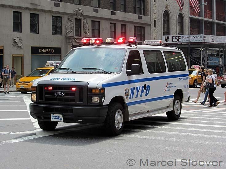 NYPD Ford Police Van