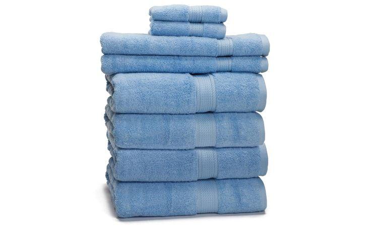 8 Piece 100 Egyptian Cotton Towel Set Giveaway Egyptian Cotton