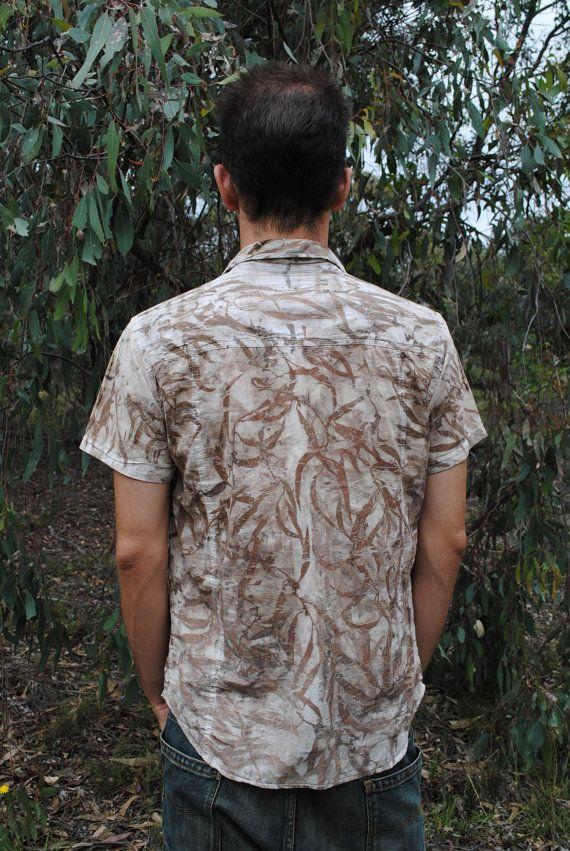 GRAU Eco Dye Repurposed silk shirt