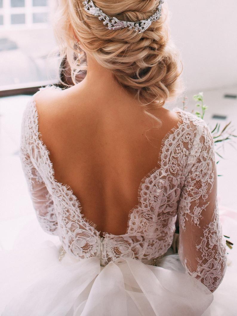 Body Spitze Body Zwei Stuck Hochzeitskleid Alternative