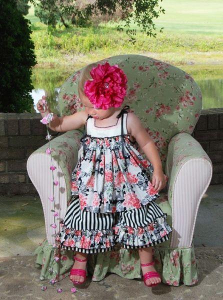 great deals 2017 official casual shoes Petite Boutique Squared Bodice | Little girl dresses, Cute dresses ...