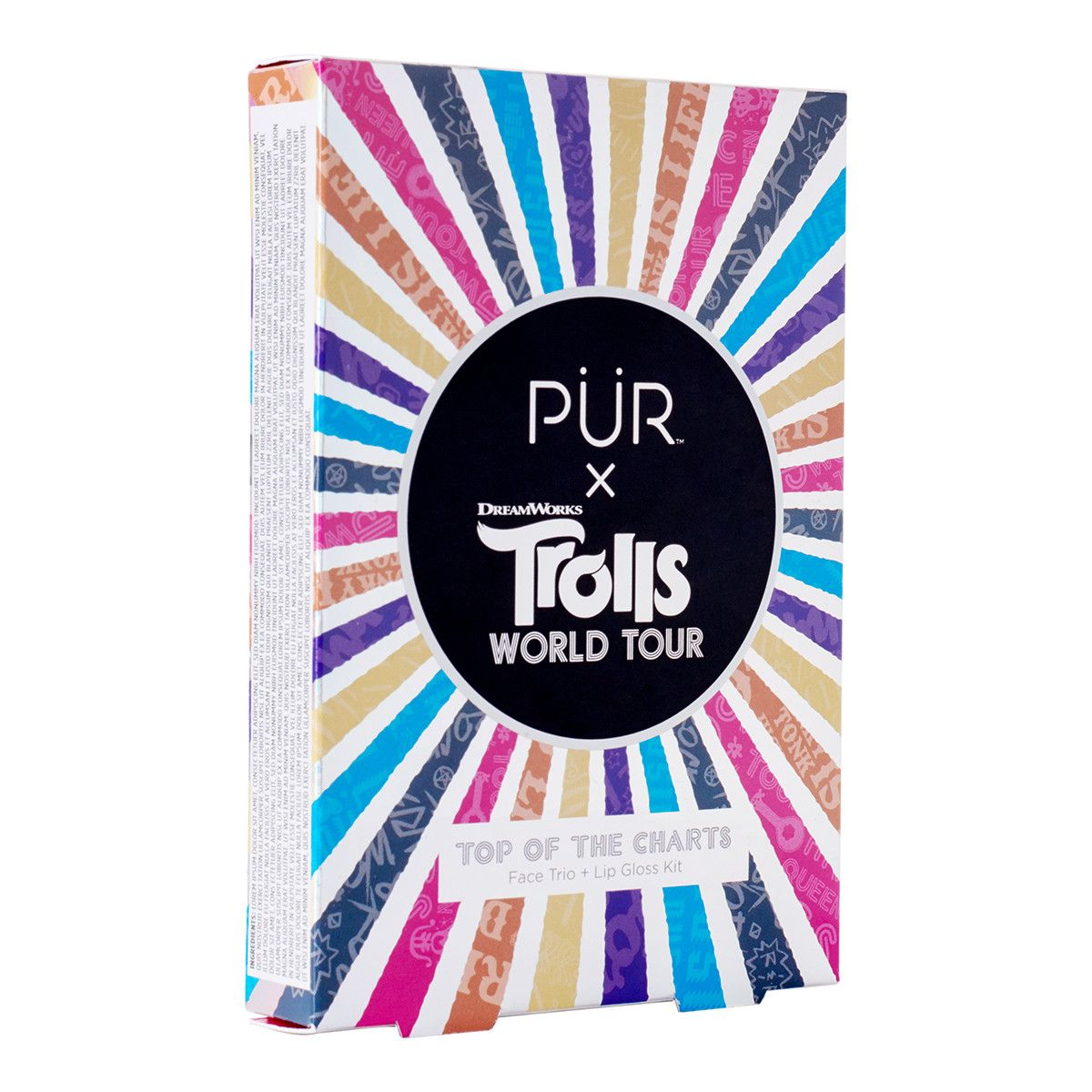 PÜR X TROLLS WORLD TOUR Top of the Charts Face Trio + Lip