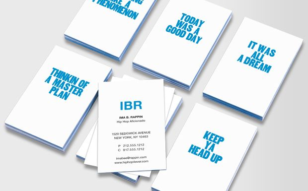 Paper jam business cards featuring phrases inspired by popular songs paper jam business cards featuring phrases inspired by popular songs moo colourmoves