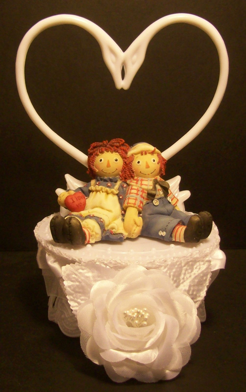 cuban wedding cake toppers raggedy amp andy and groom wedding cake topper 13138