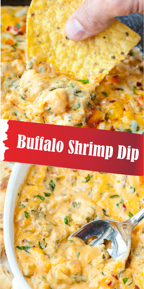 Buffalo Shrimp Dip - Best easy cooking - Best easy cooking #buffaloshrimp