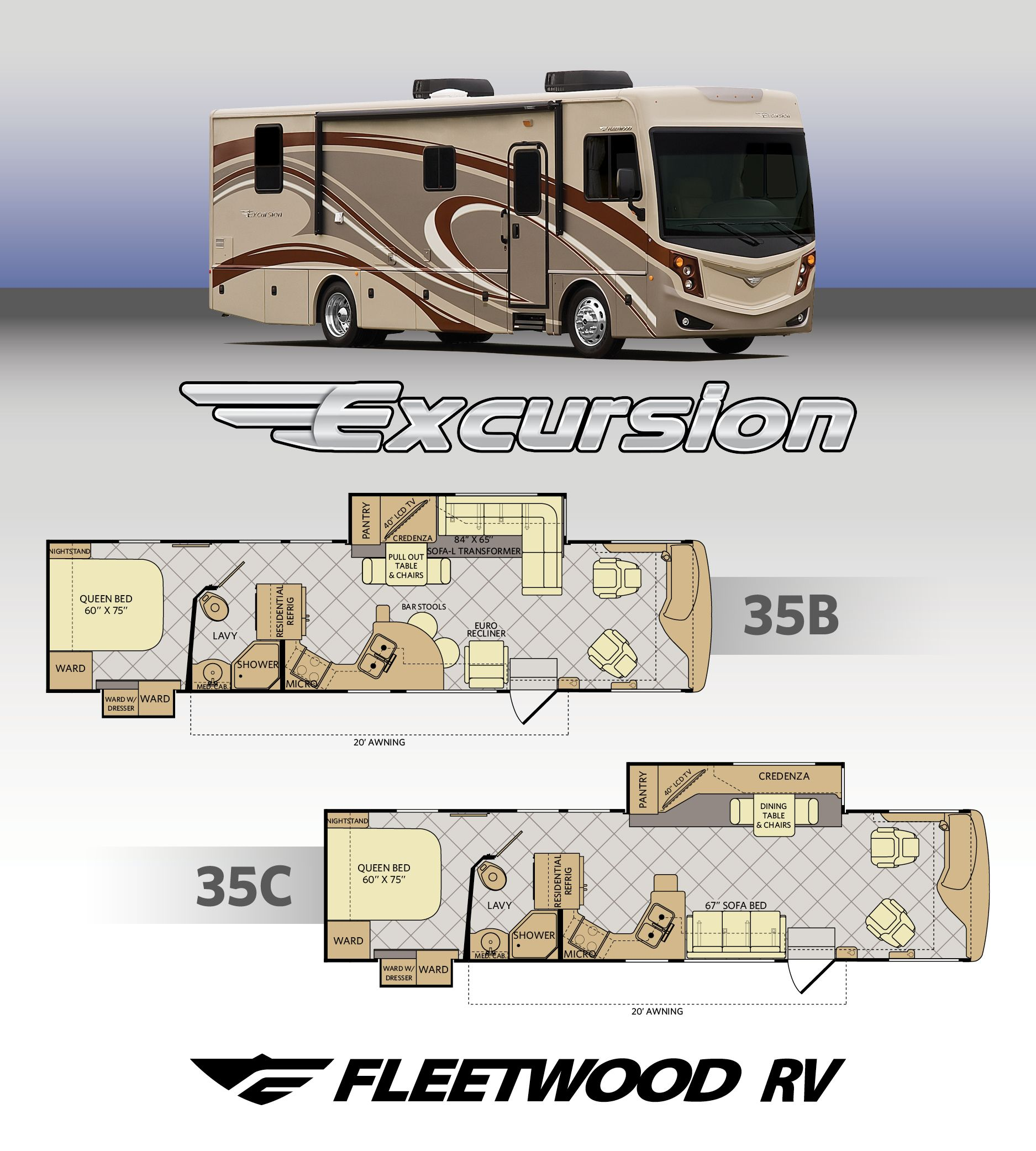 Fleetwood Rv Expands Already New Excursion Line Up Rv Trader