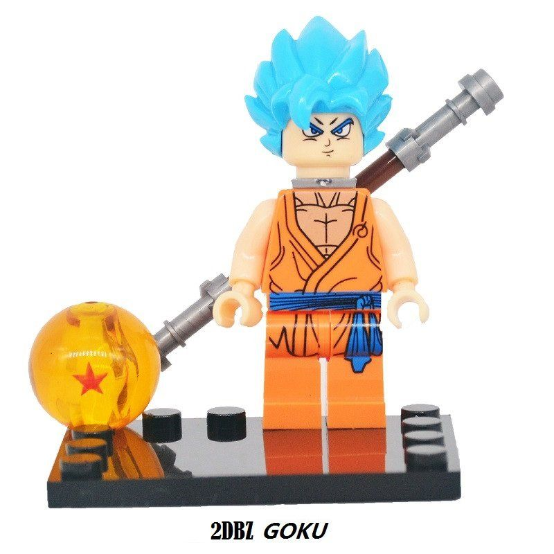 Dragon Ball Z Figure 2 Son Goku Vegeta Master Roshi Minifigure Mini Figure  Legos fd2689ef6b4c
