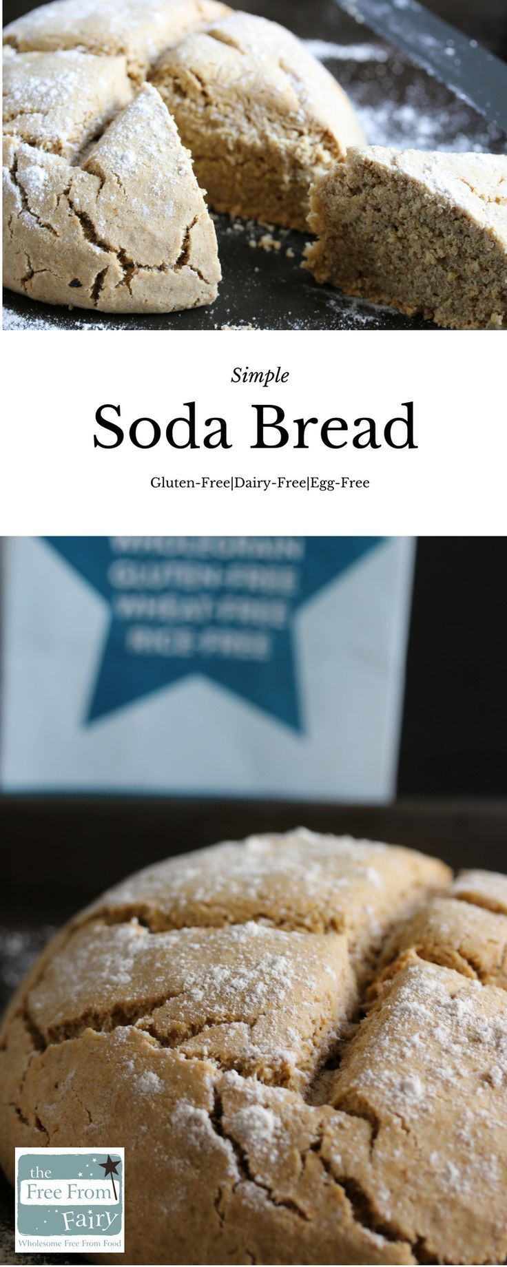 Vegan Gluten Free Soda Bread The Free From Fairy