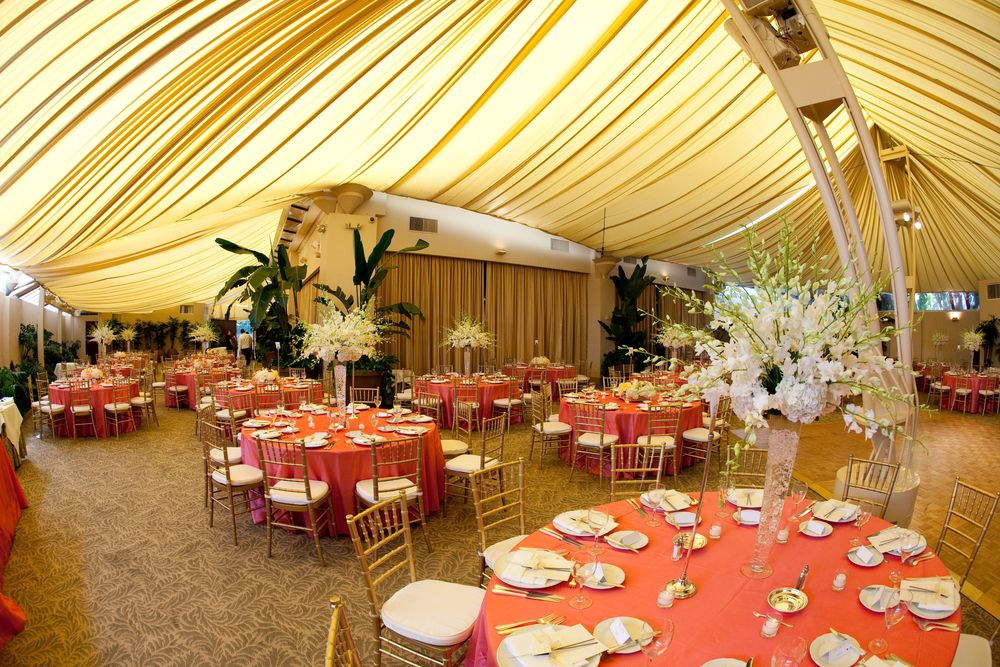 Peach And Ivory Themed Wedding Reception Cloud29 Weddings