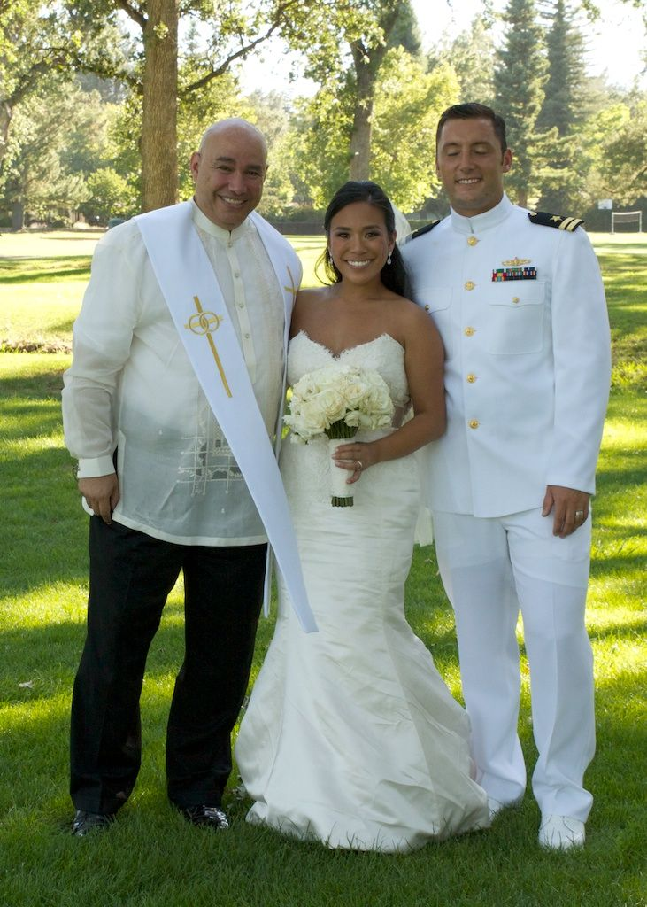 Best Traditional Filipino Wedding Officiant in Napa and Bay Area