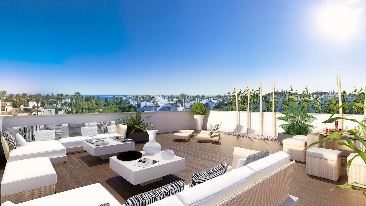 This small, boutique #development of 14 #contemporary #Marbella apartments is situated in a wellestablished and attractive residential area, within just 300 meters from the #beach. Be quick to respond! see http://bablomarbella.com/en/show/sale/25072/