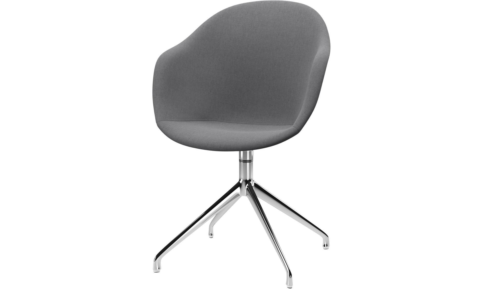 Unsere Neuheiten   Adelaide Stuhl mit Drehfunktion   Grau   Stoff   Esszimmerstühle, Stühle, Modern