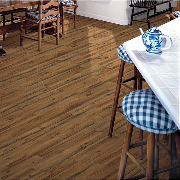 Shop Style Selections 8mm Tavern Oak Embossed Laminate Flooring At