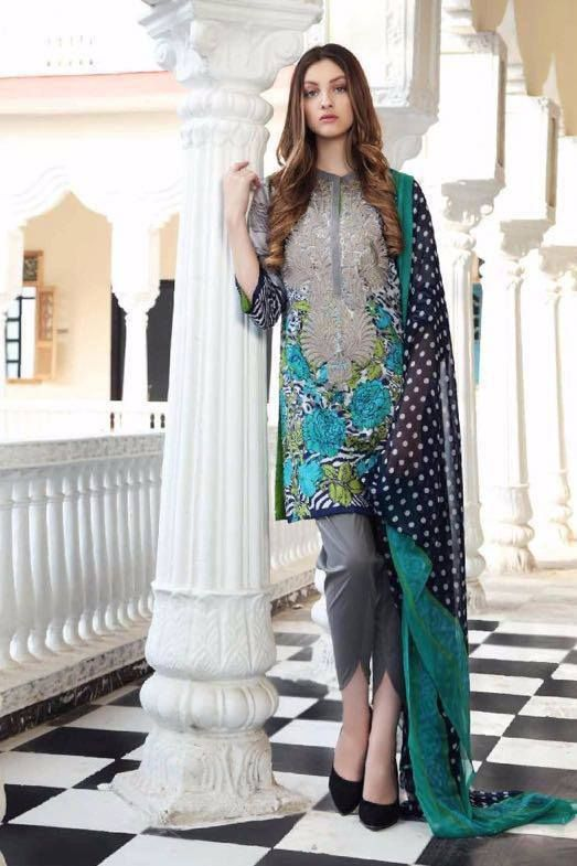 5a4488182a CHARIZMA COMBINATION LAWN COLLECTION 2017 | 1000 Ideas Of Pakistani ...