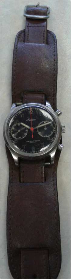 Remembering a Father in Time. Kind contribution of a Minerva Watch to our Archive.