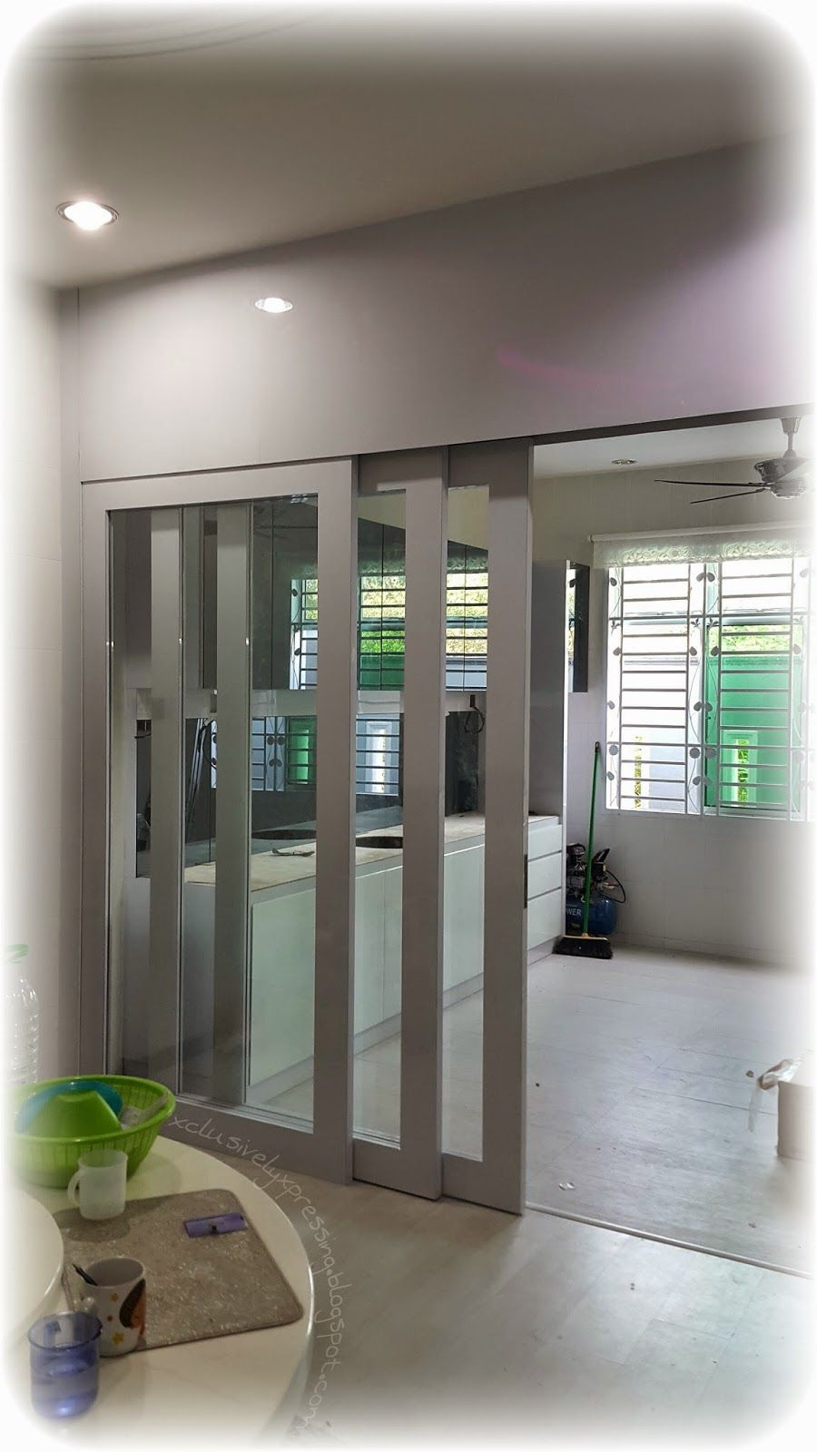 My Xclusively Xpressing Renovasi Indoor Sliding Door