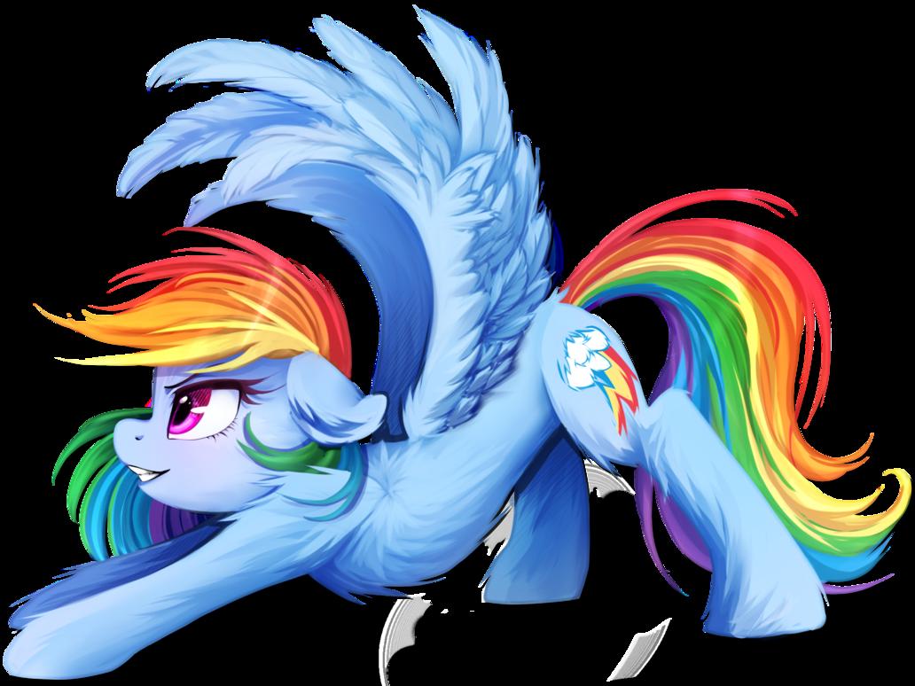 Очень красивые картинки пони радуга