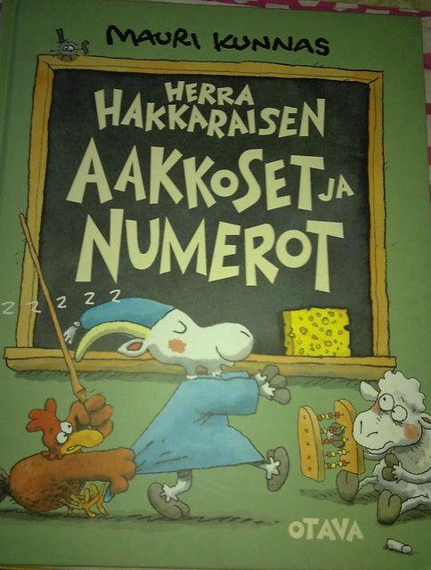 Yhteisnide: Herra Hakkaraisen aakkoset ja numerot