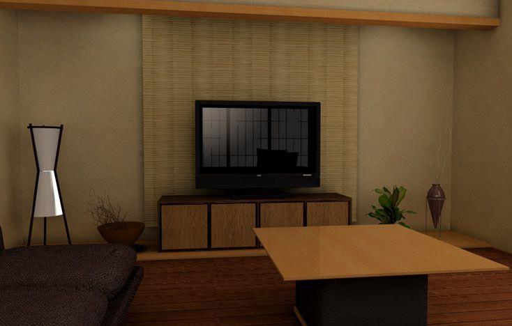 和室をフローリングにして和モダンなリビングとして使用する おしゃれな和室のインテリアコーディネート インテリア 和室 インテリアコーディネート