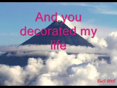 You Decorated My Life Kenny Rogers With Lyric Youtube