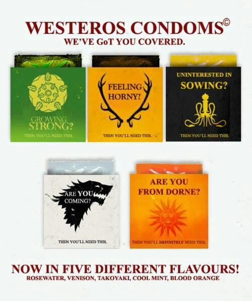 Condoms for westeros