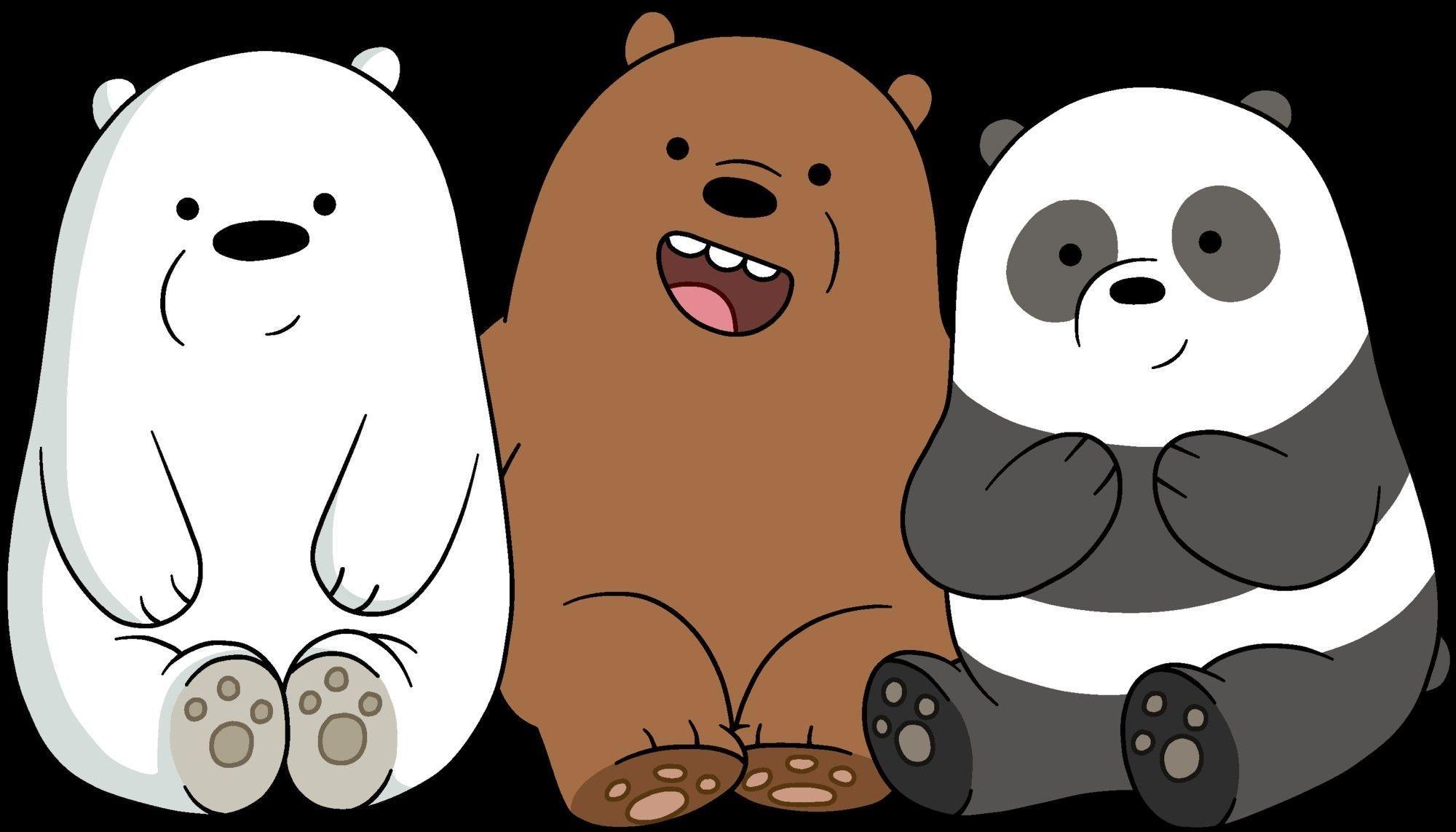 Unique We Bare Bears Wallpaper Hd Desktop In 2019 We Bare Intended For We Bare B Trend Di 2020 Gambar Hewan Lucu Beruang Kutub Beruang Grizzly