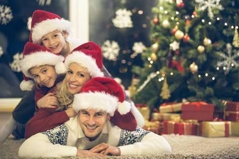 Resultado de imagen para fotografias familiar navidad Aprendiendo