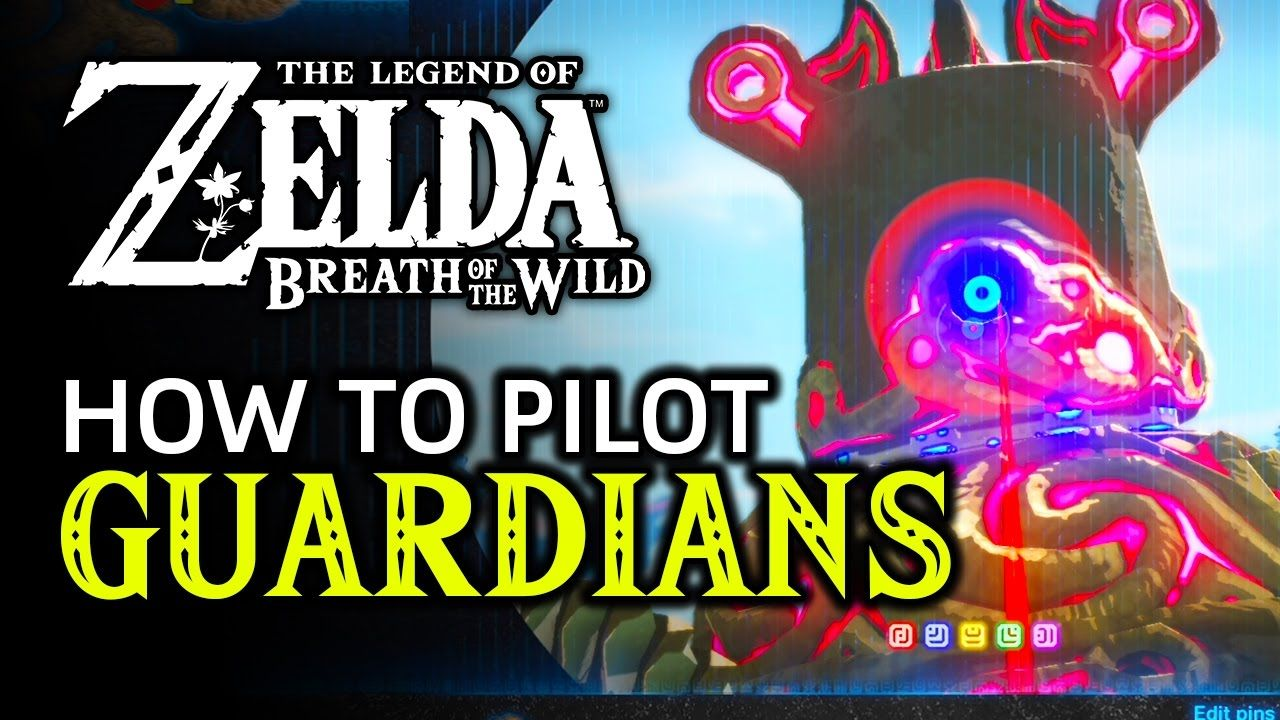 How To Pilot A Guardian In Zelda Breath Of The Wild April Fools