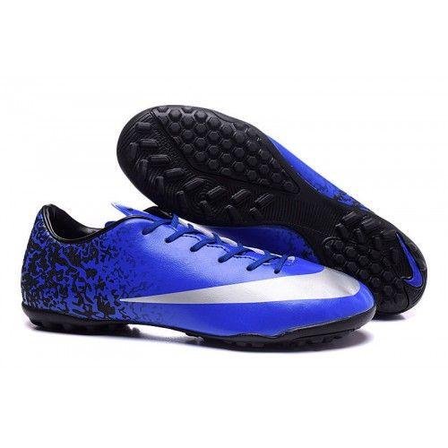 Nike Mercurial Victory V CR7 TF Boots Weiß Orange Blau