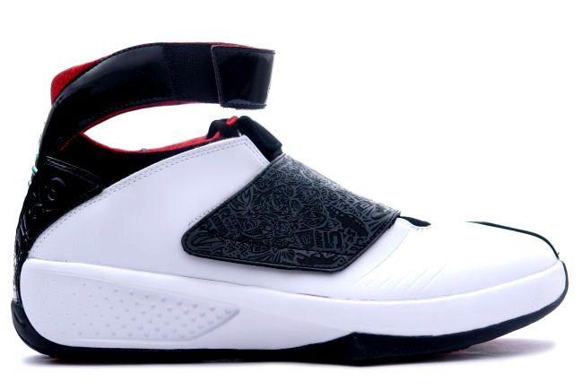 Air Jordan xx basket-ball blanc noir les chaussures rouges de 20 hommes pas  cher