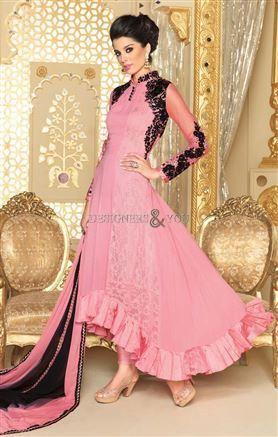 #Newanarkali #salwarsuits paralel kameez back #neckdesigns #designerwear #designersandyou