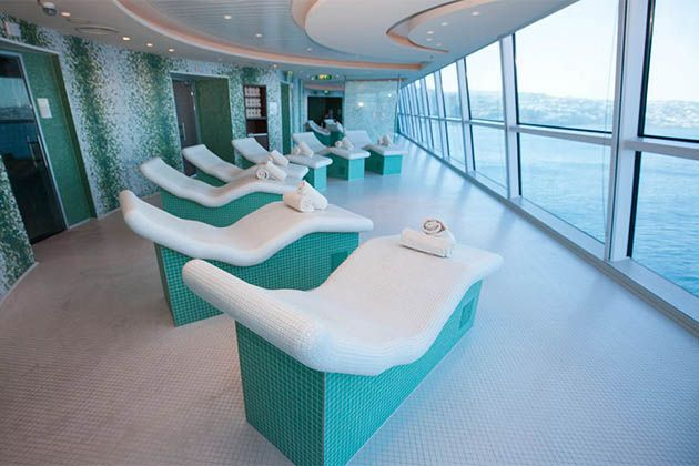 Cruise ship spas