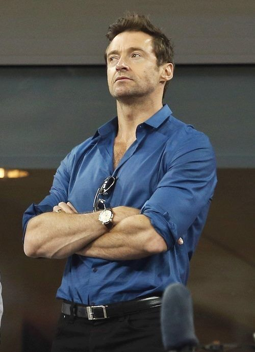 .Hugh at the US Open womens finals